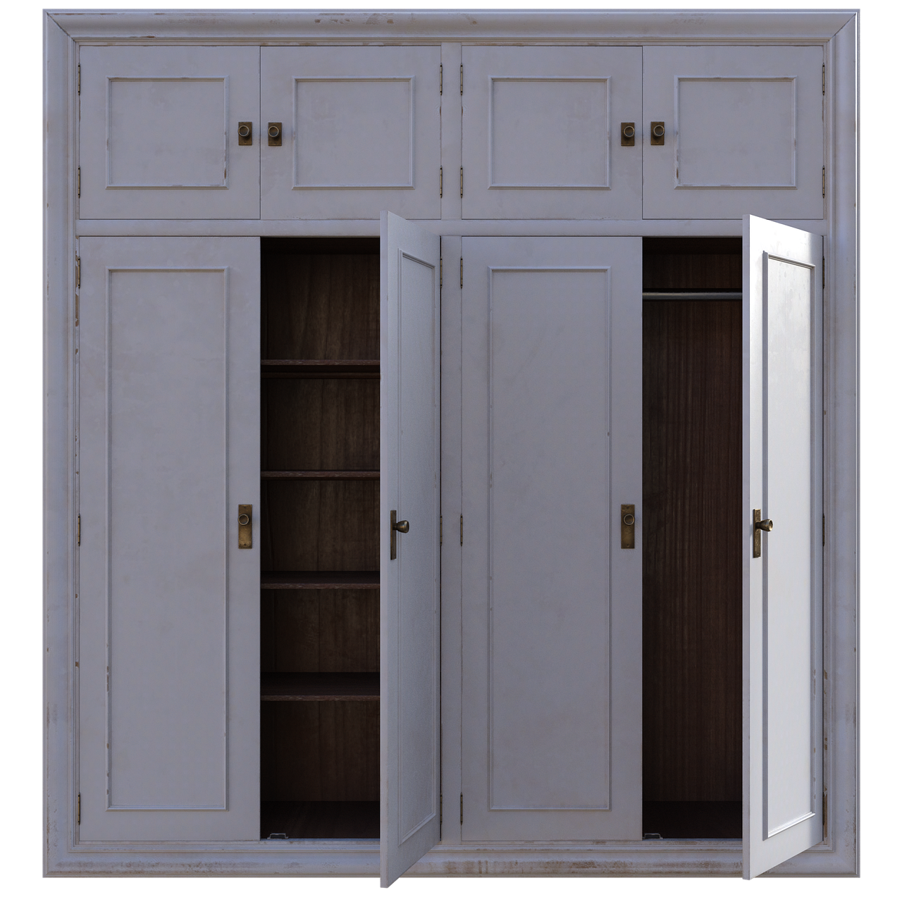 Best_White_Wooden_Wardrobe